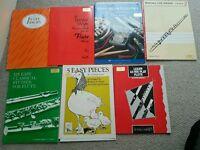 Flute books music
