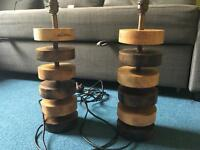 Lamp Bases x 2