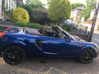 MR2 2Dr convertible, soft top, Toyota Roadster in midnight blue car for sale