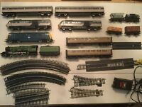For sale. Oo guage model trains etc.