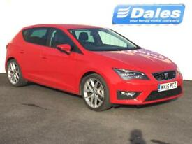 Seat Leon 1.4 TSI ACT 150 FR 5dr [Technology Pack] (emocion red) 2015