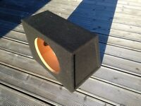 "Sub woofer enclosure for 12"" Sub"