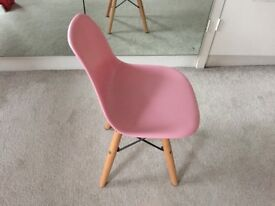 Eames Style Child's Chair - Pink