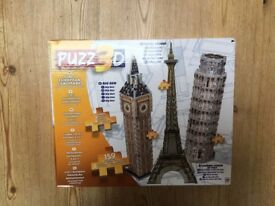 3D puzzle - 3 in 1 - Brand new