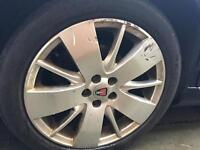 Rover 75 / MG ZT starspokes 17inch 5x100