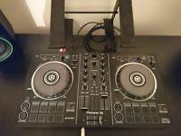 Full DJ coltroller set up