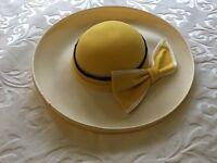 Cream/Yellow Jacque Vert Hat