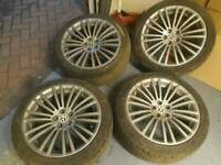 18 inch Audi vw r32 alloy wheels