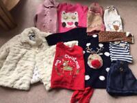 Large clothing bundle. 9-12 month girls bundle