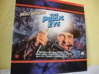 The Public Eye. NTSC laserdisc. Letterbox edition.
