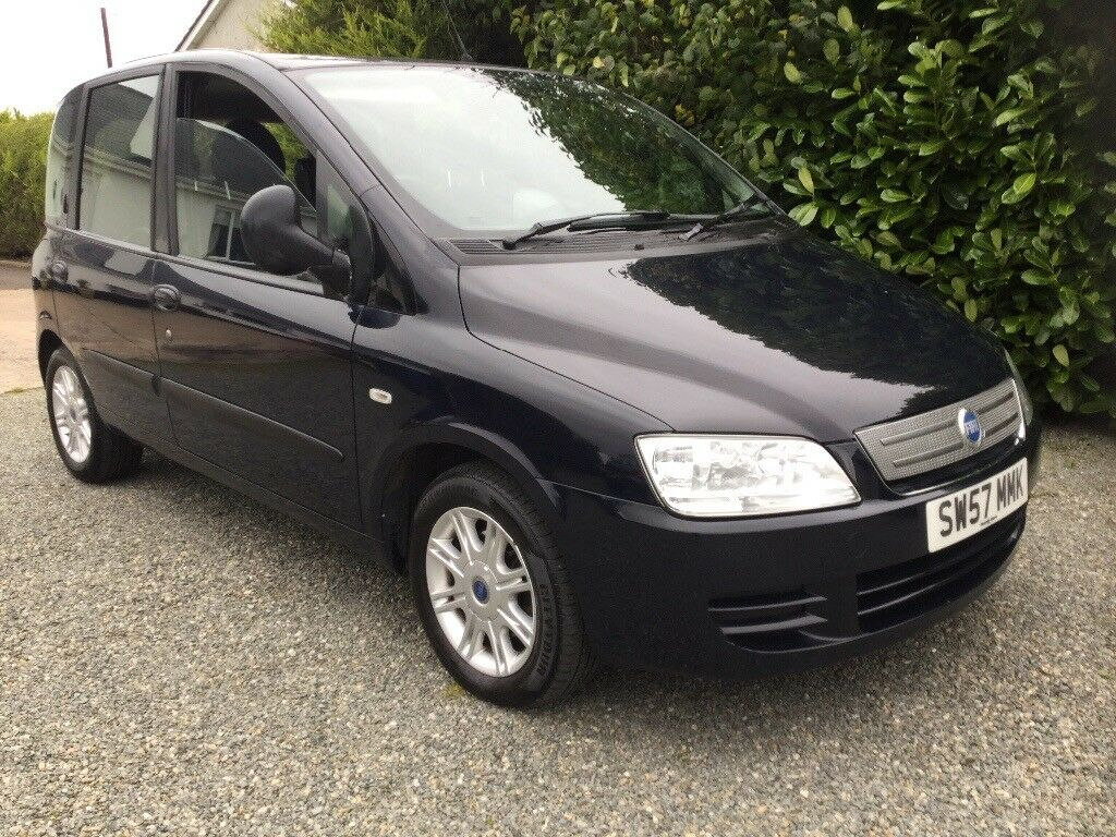 2008 fiat multipla 1 9 diesel 6 seater mot feb 2018 great condition cookstown in moneymore. Black Bedroom Furniture Sets. Home Design Ideas