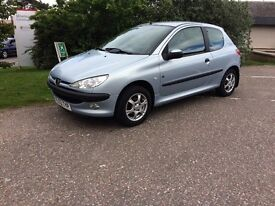 Peugeot 206 1.4 fever edition . Full 12 months mot. Extremely nice car. View in Inverness.