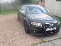 Audi RS4 B7 2006,fsh,low road tax full mot,low owners hpi clear,fbsw,wing back seats may.p.ex