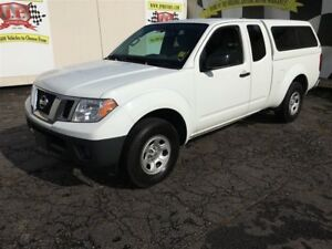 2014 Nissan Frontier S, Extended Cab, Steering Wheel Controls,