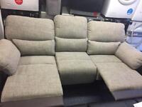 Santori 3 seaters recliner sofa