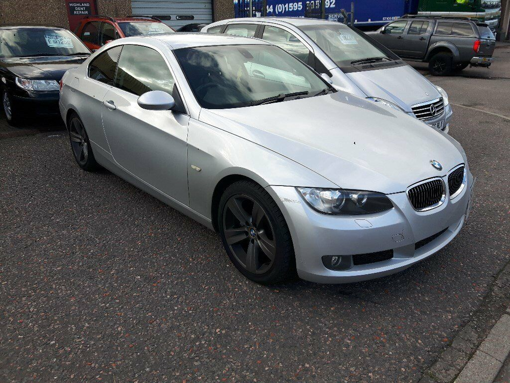 2006 BMW 330i E92 COUPE SE auto 2dr black leather