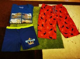 Small bundle for boys / 3 items / 8 - 9 years / Skechers, Mothercare, Aquatinto