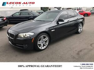 2013 BMW 5 Series 528i xDrive\Navigation\lane assist\Bluetooth\r