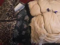 Faux fur fabric bundle