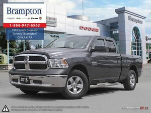 2016 Ram 1500 SXT | 4X4 | EX DEMO | Bluetooth | RAMBOX |