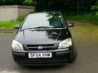 HYUNDAI GETZ 1.1 PETROL WITH YEAR MOT