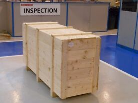 Timber Cases & Crates with Shipping