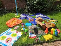 A SELECTION OF GARDEN TOYS AND OUTDOOR GAMES PRICE REDUCED BY £20