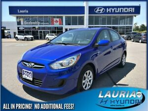 2014 Hyundai Accent GL Auto - Super low kms!