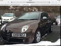 Alfa Romeo Mito 2011!! Low mileage!! 1.3 diesel ZERO tax!!