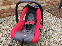 """Phil & Teds """"bebe"""" baby seat + Vibe buggy attachments"""