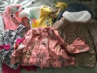 Job lot baby girls clothes
