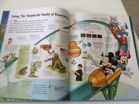 Disney wonderful world of knowledge books x24!!!