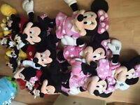 Bundle of Mickey and Minnie Mouse toys