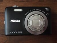 Nikon S6700 Digital Compact Camera & All Accessories and Case