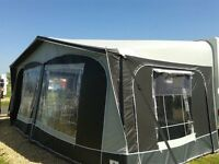 Caravan Awning Dorema SupremeXL270 (2014), 925-950, grey, with extra roof poles, very good condition