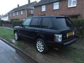 Range rover 4.2 supercharged 2005 facelift spares repairs.