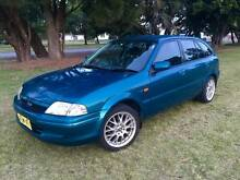 1999 Ford Laser Hatchback Wickham Newcastle Area Preview