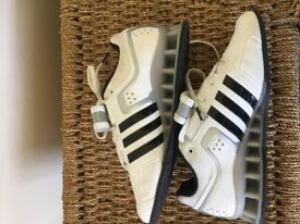 ADIDAS Adipowers (Powerlifting) Trainers Size 4 Excellent Condition