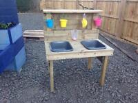 Kids mud kitchen