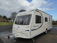 2008 BAILEY PAGEANT CHAMPAGNE 4 berth Touring caravan – Series 7, end washroom and motor mover