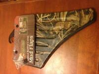Camo rubber mud flaps