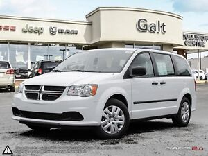 2017 Dodge Grand Caravan CANADA VALUE PACKAGE | UCONNECT |