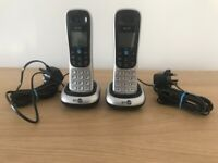 2 BT 2100 Cordless Phone Additional Handset
