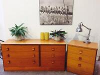 Retro chests of drawers