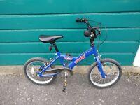 Trax Boys 16 Inch Bike