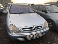 2002 Citroen xsara, 2.0 diesel, breaking for parts only, all parts available