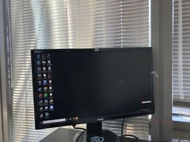ASUS 24INCH WIDESCREEN GAMING MONITOR