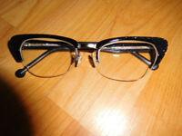 Genuine L.A. Eyeworks Eyeglasses Glasses Frame Douglas 332495 Night Glitter