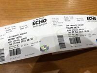 Paloma Faith tickets x 2 face value