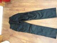 Leather Trousers - Size 10 (unfinished hem length)
